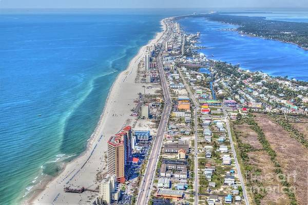 Photograph - Gulf Shores 7124 by Gulf Coast Aerials -