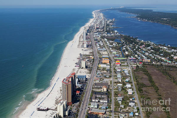 Photograph - Gulf Shores 7124n by Gulf Coast Aerials