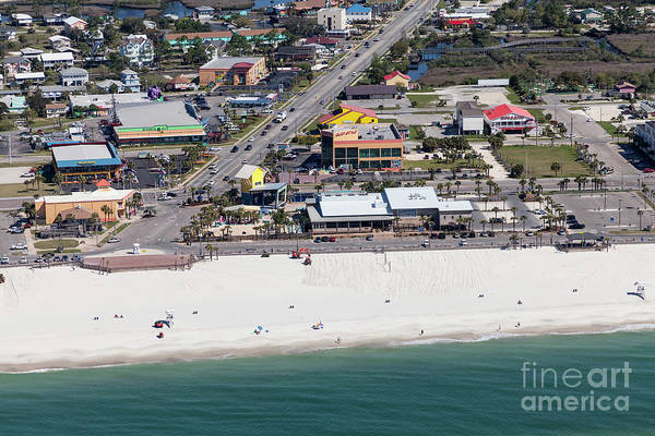 Photograph - Gulf Shores Beach 7139 by Gulf Coast Aerials -