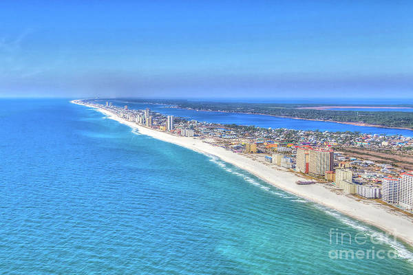 Gulf Shores Beaches 1335 Tonemapped Art Print