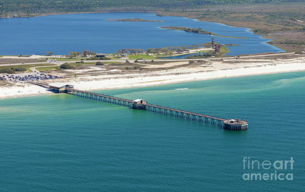 Photograph - Gulf State Park Pier 7464n by Gulf Coast Aerials -