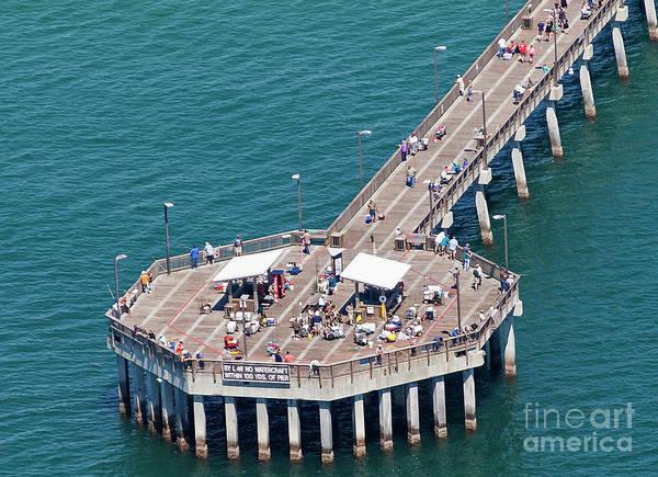 Photograph - Gulf State Park Pier 7467 by Gulf Coast Aerials -