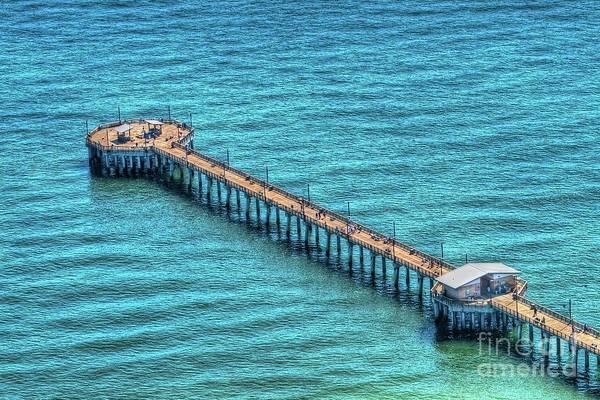 Photograph - Gulf State Park Pier by Gulf Coast Aerials -