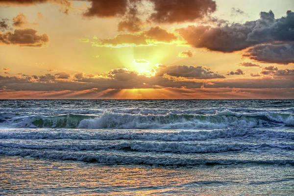 Beam Of Light Photograph - Gulf Waters by HH Photography of Florida
