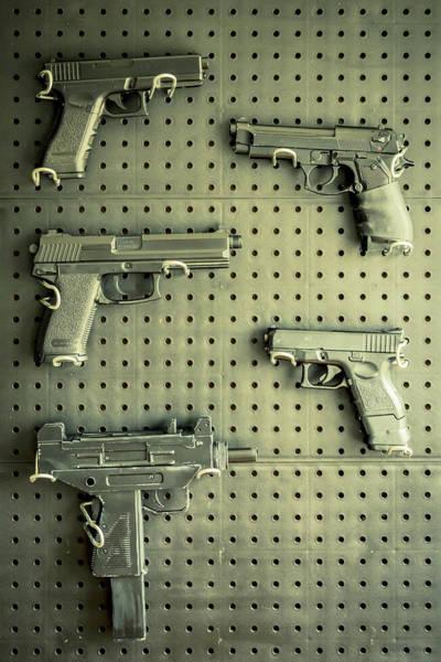 Wall Art - Photograph - Gun Collection 2 by Richard Nixon