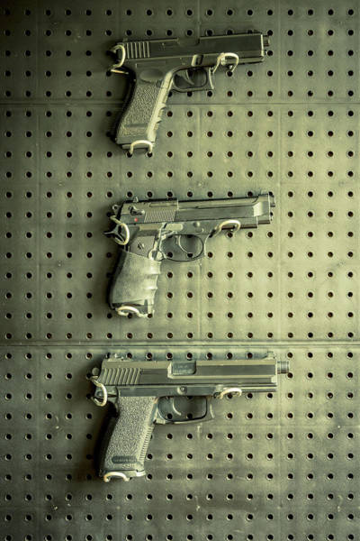 Wall Art - Photograph - Gun Collection by Richard Nixon
