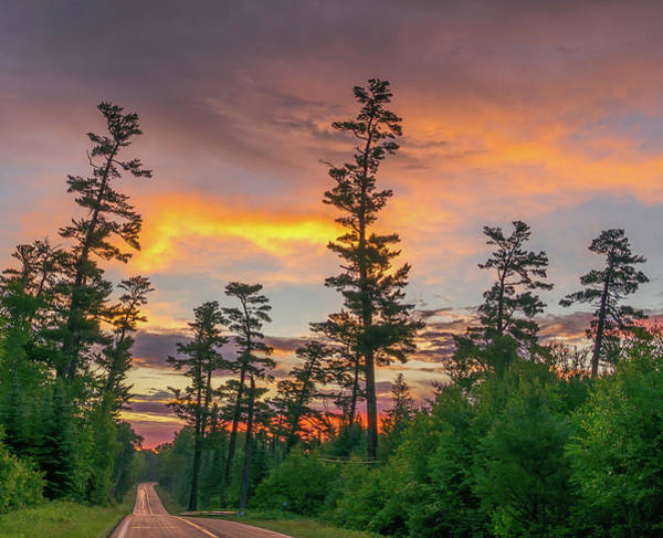 Bwcaw Photograph - Gunflint Pines Sunrise by David Johnson