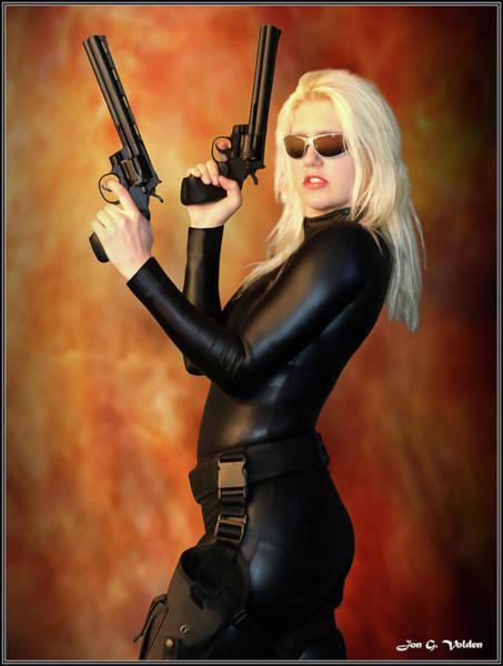 Photograph - Guns Of The Widow by Jon Volden