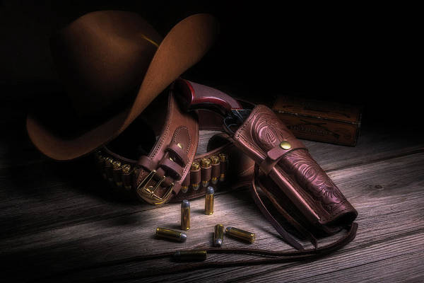 Colt Photograph - Gunslinger by Tom Mc Nemar