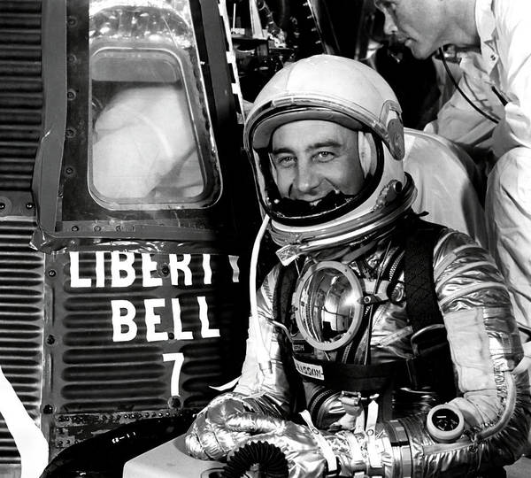 Gus Photograph - Gus Grissom - American Hero by Daniel Hagerman