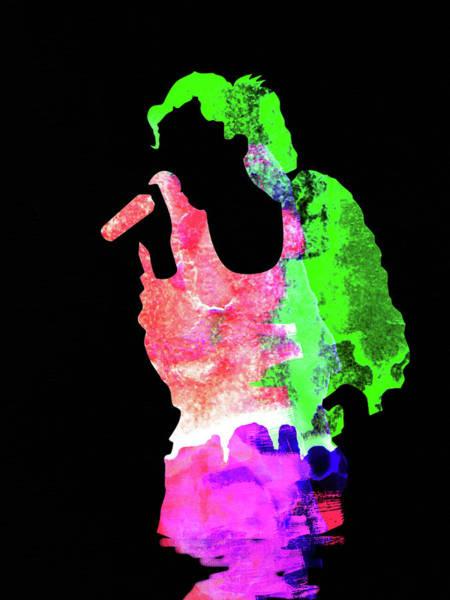 Pop Mixed Media - Gwen Watercolor II by Naxart Studio