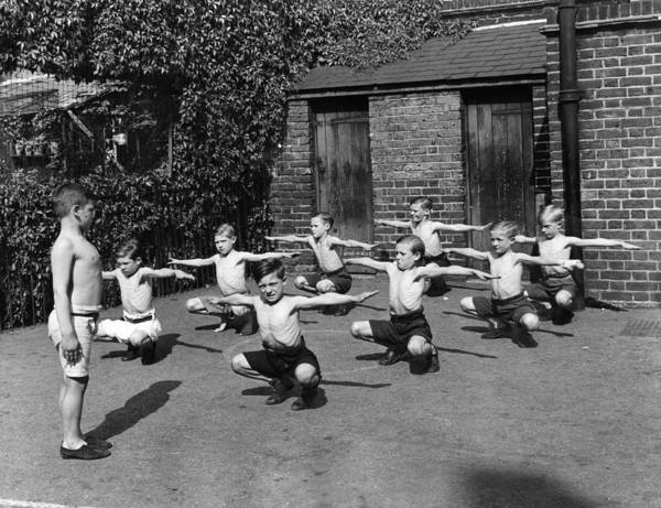Learning Photograph - Gym Time by Hulton Collection