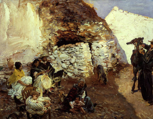 Wall Art - Painting - Gypsy Encampment, 1913 by John Singer Sargent