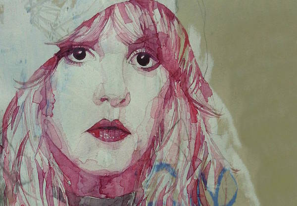 Wall Art - Painting - Gypsy - Stevie Nicks - Resize by Paul Lovering