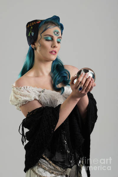 Cosplay Photograph - Gypsy With Third Eye by Amanda Elwell