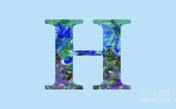 Digital Art - H 2019 Collection by Corinne Carroll