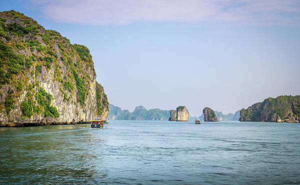 Photograph - Ha Long Bay by Gary Gillette