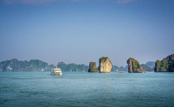 Photograph - Ha Long Bay Vietnam by Gary Gillette