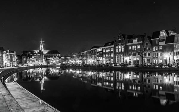 Photograph - Haarlem At Night by Framing Places