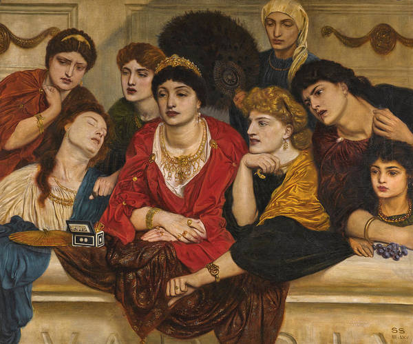 Wall Art - Painting - Habet. In The Coliseum A.d.xc by Simeon Solomon
