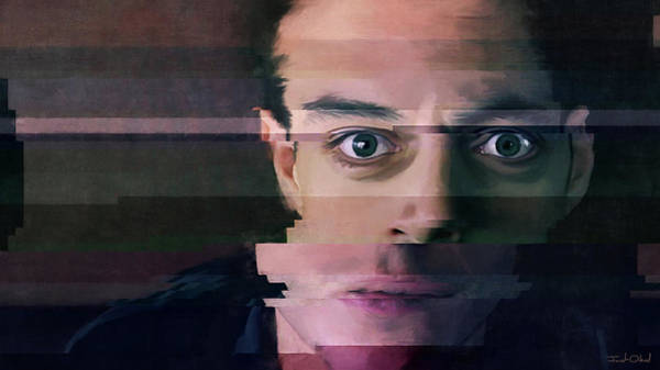 Virus Painting - Hack The Planet - Mr Robot by Joseph Oland