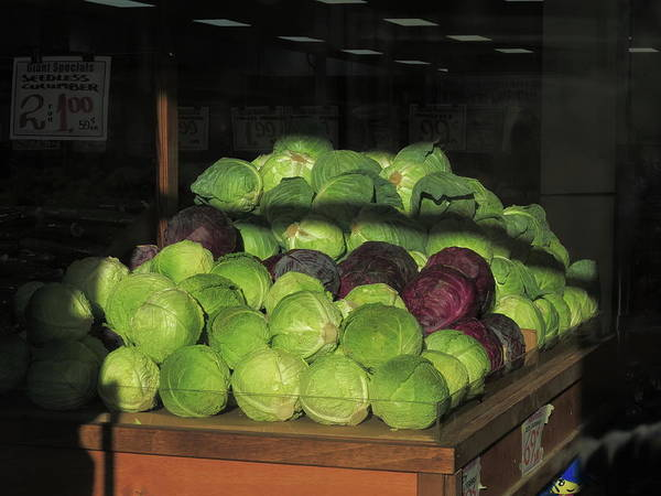 Photograph - Hackensack, Nj - Cabbage 2018 by Frank Romeo