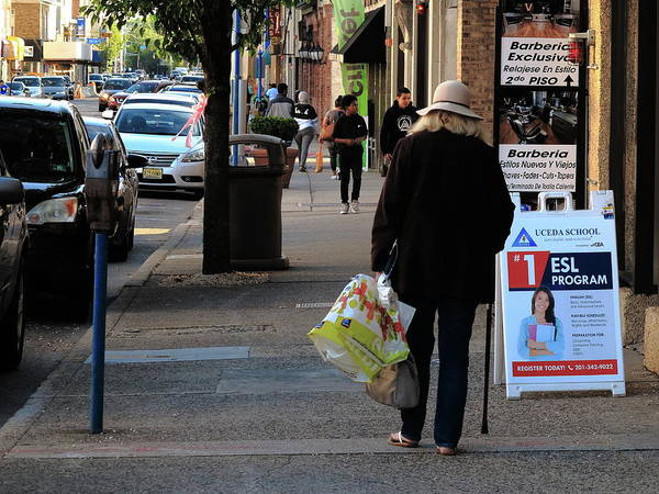 Photograph - Hackensack, Nj - Main Street Stroll 2018 by Frank Romeo