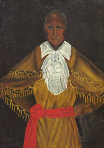 Wall Art - Painting - Haddock Red Jacket, C1828 by Granger