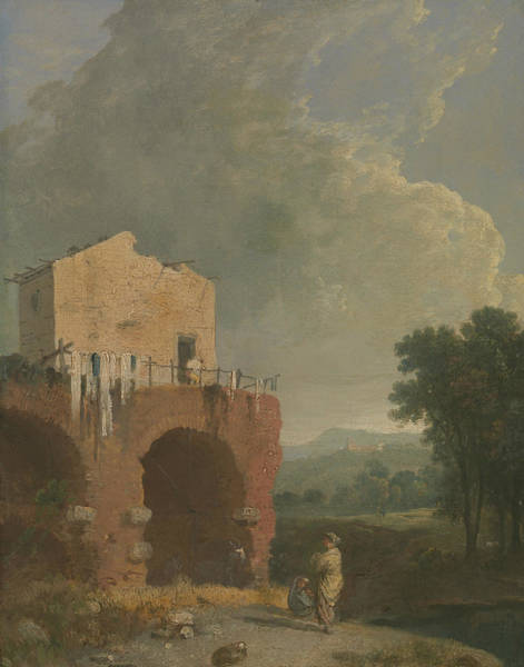 Painting - Hadrian's Villa by Richard Wilson
