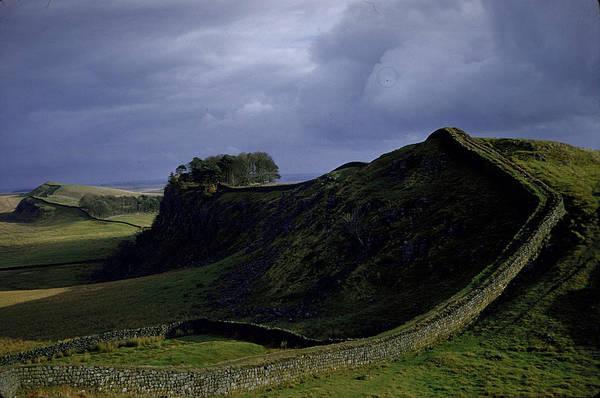 Hadrians Wall Photograph - Hadrians Wall by Dmitri Kessel