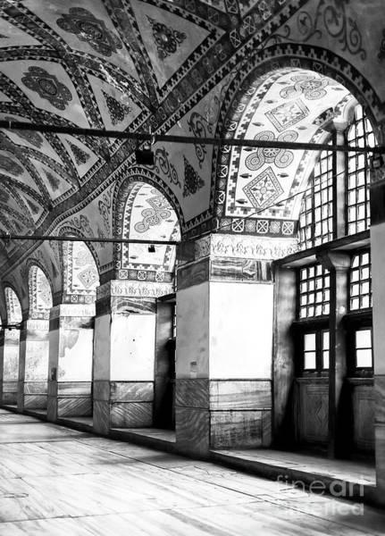 Sancta Sophia Photograph - Hagia Sophia Columns Istanbul by John Rizzuto