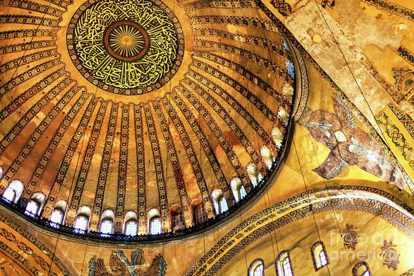 Sophia Photograph - Hagia Sophia Wonders Instanbul by John Rizzuto