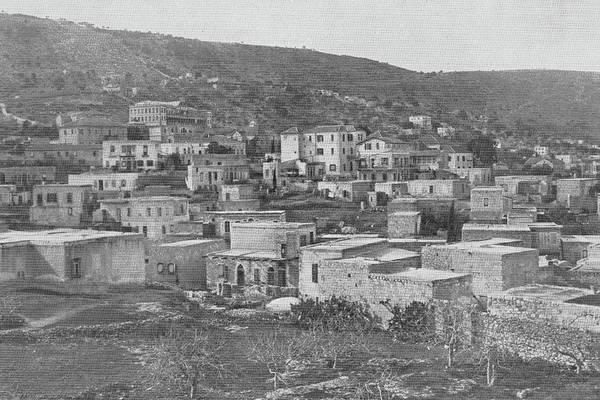 Wall Art - Photograph - Haifa 1925 by Munir Alawi