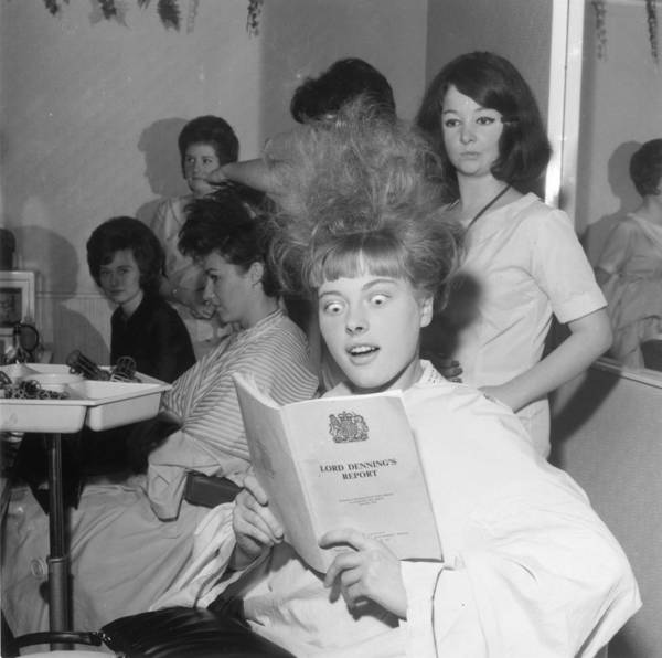 Contest Photograph - Hair-raising Report by George Freston