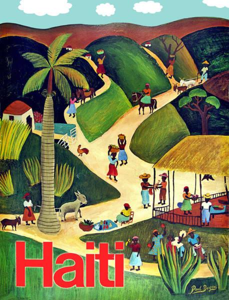 Wall Art - Digital Art - Haiti by Long Shot