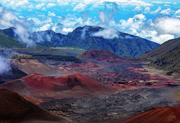 Photograph - Haleakala Crater Floor by Anthony Jones