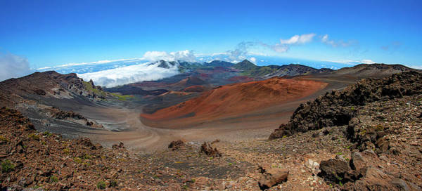 Photograph - Haleakala Crater Panoramic by Anthony Jones