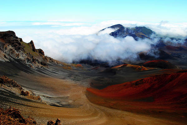Photograph - Haleakala Crater by Robert Stanhope