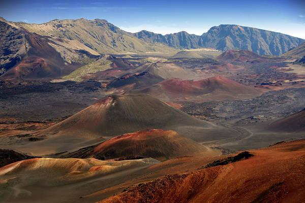 Haleakala Crater Photograph - Haleakala Crater  Volcano by Ishootphotosllc