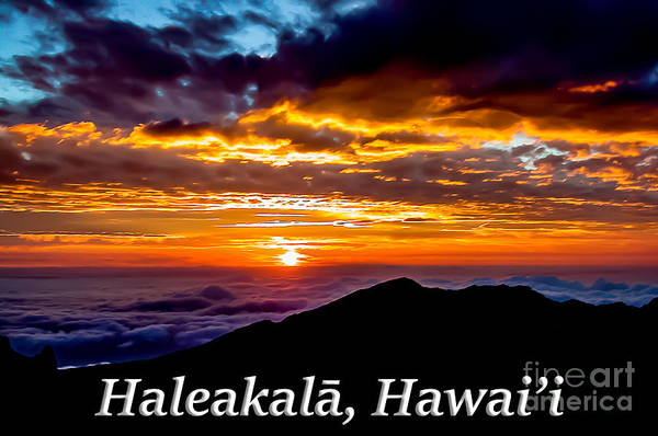Photograph - Haleakala Hawaii by G Matthew Laughton