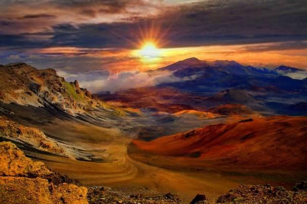 Hawaiiana Photograph - Haleakala Sunrise by DJ Florek