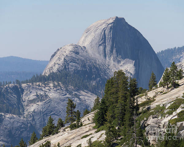Photograph - Half Dome And Yosemite Valley From Olmsted Point Tioga Pass Yosemite California Dsc04221-2 by Wingsdomain Art and Photography