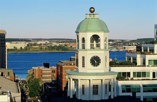 Wall Art - Photograph - Halifax Clock Tower As Viewed From The by Bilderbuch   / Design Pics