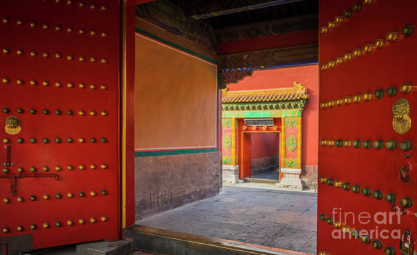 Forbidden City Photograph - Hall Of Earthly Tranquility by Inge Johnsson