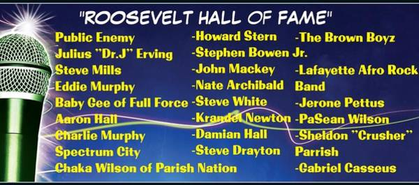 Howard Stern Wall Art - Photograph - Hall Of Fame, Roosevelt, Ny Alums by Jerry Jerome Jackson