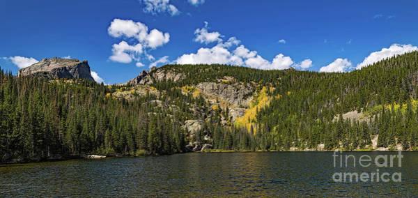 Photograph - Hallett Peak And Bear Lake by Jon Burch Photography