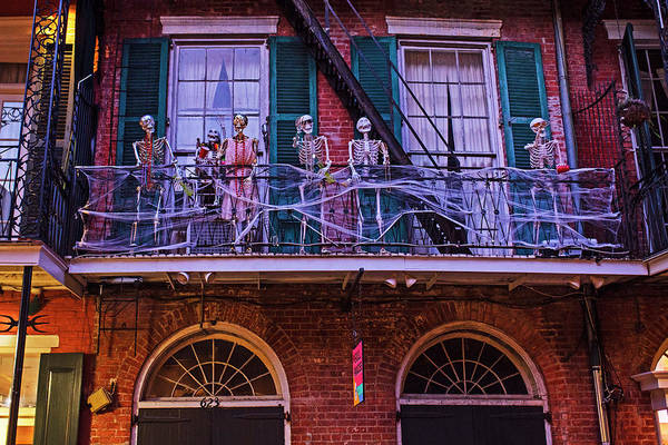 Photograph - Halloween In The French Quarter New Orleans La Louisiana by Toby McGuire
