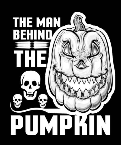 Trick Or Treat Drawing - Halloween Pumpkin Jack O Lantern Skeleton Skulls by Kanig Designs