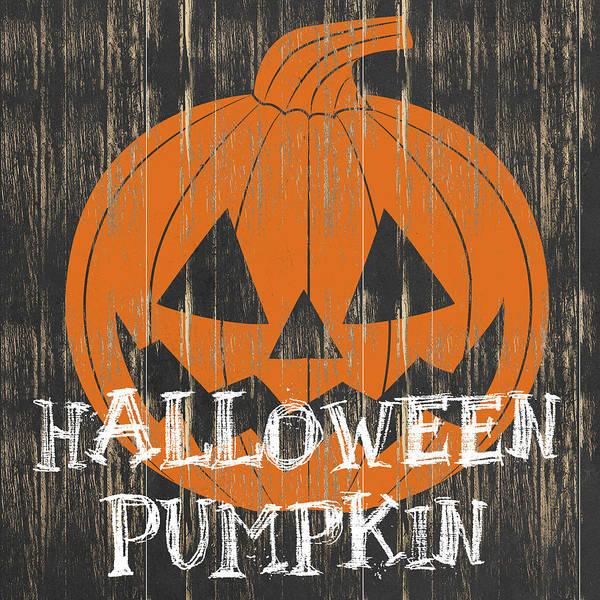 Pumpkin Digital Art - Halloween Pumpkin by Sd Graphics Studio