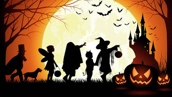 Photograph - Halloween - Trick Or Treat  by Doc Braham
